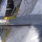 Course au Large IMOCA Barcelona World Race 2014 Cheminée Poujoulat 480